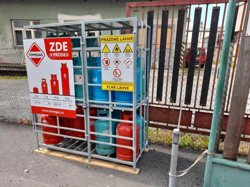 Prodej plynu   Vysokozdvižné vozíky Měřín